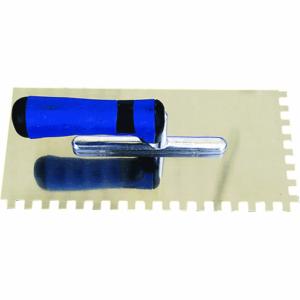 Gleter ravni inox madex 1029 NAZUBLJEN gumeni