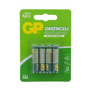 gp batteries greencell 4 AAA