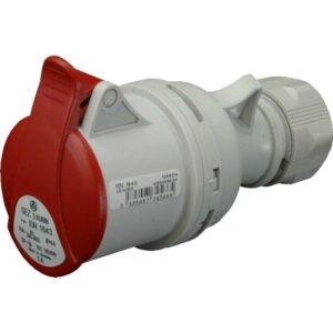 Industrijski natikač 5 polni 400V IP44