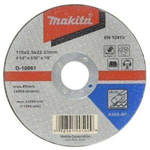 Makita Cutting Disc 115X2X222 D 18661 Pack Of 4