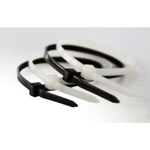 Vezice PVC crne / bijele / zelene 100/1