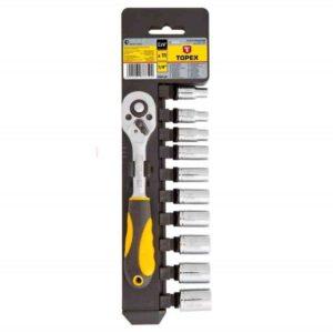 Set nasadnih ključeva s račnom TOPEX1