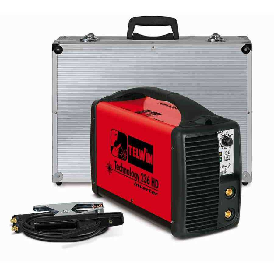 Telwin technology 236 HD rel inverter TIG MMA