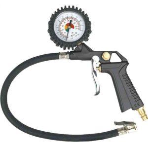 Pištolj za pumpanje s manometrom Topex