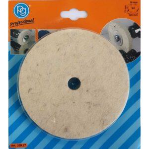 Filc za poliranje 125×15 Ø16mm