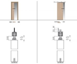 Okov za klizna drvena vrata 16 20m www.koblenz.it sol.0400 40
