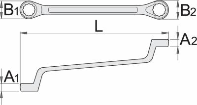 Ključ okasti 180 1