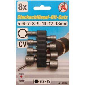 BGS bitovi za šesterokutne vijke set 5 13mm