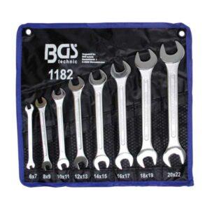 BGS set viljuškastih ključeva 6 22 8 dijelova