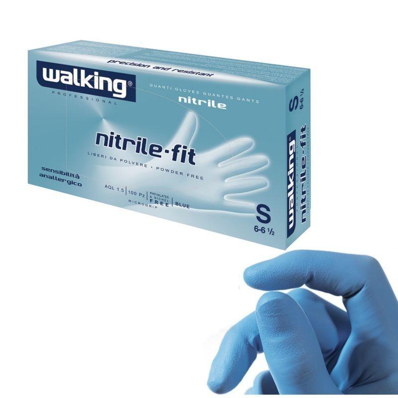 Rukavice jednokratne nitril 100 1