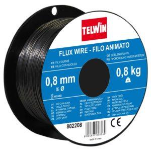 Žica za varenje punjena prahom - Flux 0,8mm Telwin