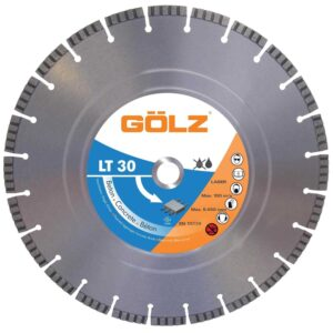 Dijamantna turbo rezna ploca Golz LT30 350×254 1
