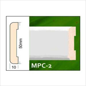 Lajsna dovratnika bijela 50mm x 22m