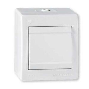 Prekidac OG IP44 10A bijeli