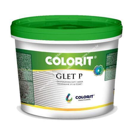 Glet-P - glet masa za unutrašnje zidove u pasti