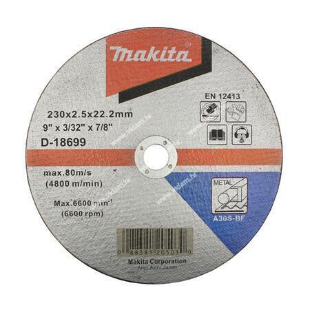 Rezna ploča 230x2,5mm za metal Makita D-18699