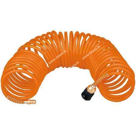 Crijevo za kompresor spiralno 15m 8mm