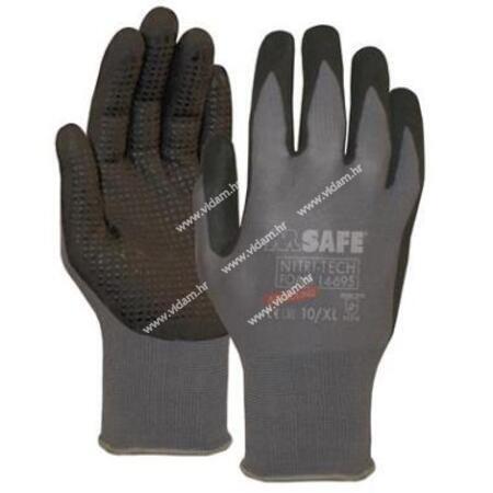 Rukavice M Safe Nitril tech