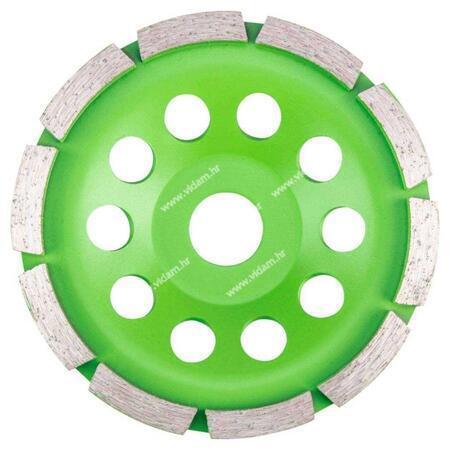 Brusna ploča diamant 125x5mm segment 61H434