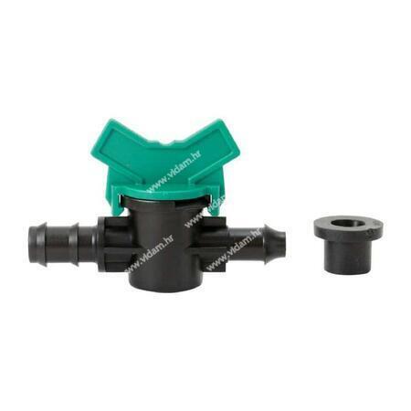 Drip line odvodnik s ventilom i gumicom tip T Ø16mm