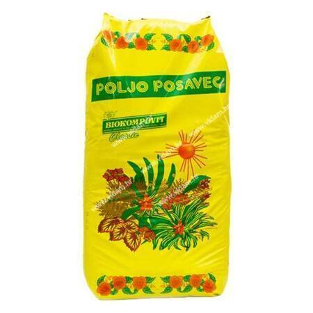Biokompovit zemlja za cvijeće