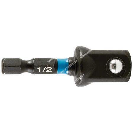"Udarni bit adapter za 1/2"" nasadni ključ Makita B-66874 Black Impact"