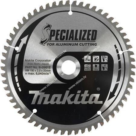 List kružne pile TCT Makita B-09662 260x30x100
